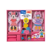 Minnie and Daisy Wooden Magnetic Dress-Up