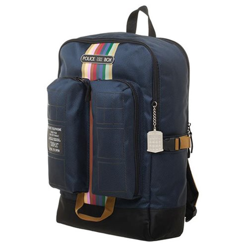 Doctor Who TARDIS Double Pocket Backpack