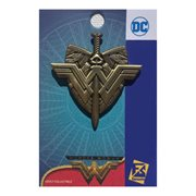 Wonder Woman Movie Logo with Sword and Shield Pin