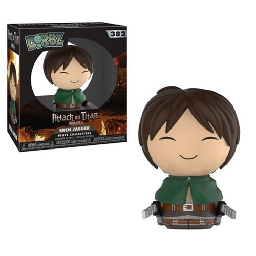 Attack on Titan Eren Dorbz Vinyl Figure #382