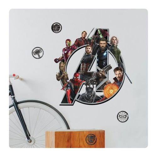 Avengers: Infinity War Logo Peel and Stick Giant Wall Decals