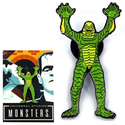 Universal Monsters Creature from the Black Lagoon Enamel Pin