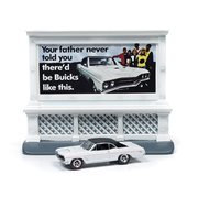 Johnny Lightning 1967 Buick GS with City Billboard