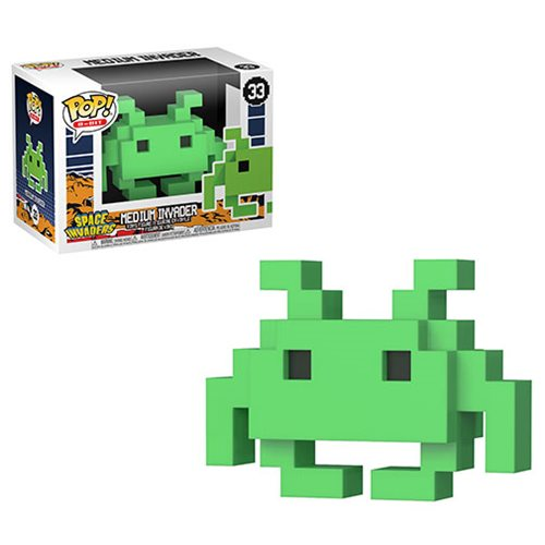 Space Invaders MD Invader 8-Bit Retro Pop! Vinyl Figure