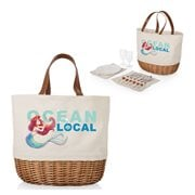 The Little Mermaid Beige Promenade Picnic Basket