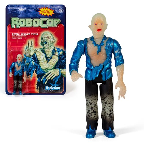 RoboCop Glow in the Dark Emil Antonowsky 3 3/4-Inch ReAction Figure - NYCC Exclusive