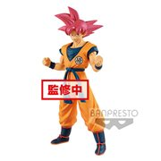 Dragon Ball Super Movie Super Saiyan God Son Goku Statue