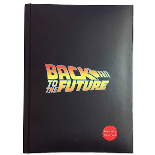 Back to the Future Logo Notebook W/Light