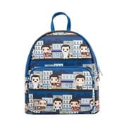 Seinfeld Pop! City Print Mini Backpack