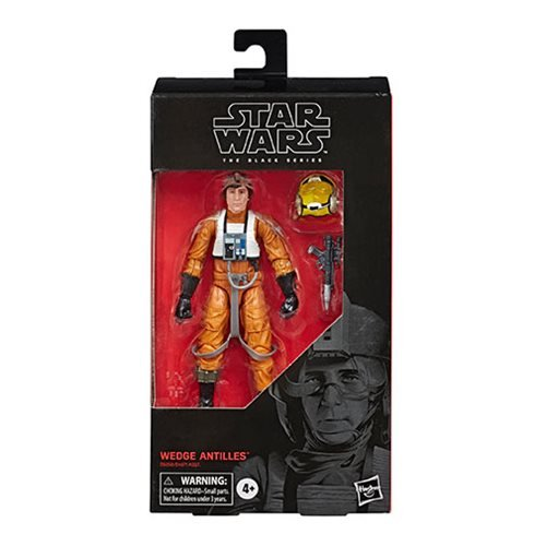 Star Wars The Black Series Wedge Antilles 6-Inch Action Figure