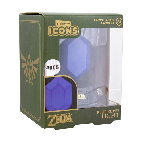 Legend of Zelda Blue Rupee Icon Light