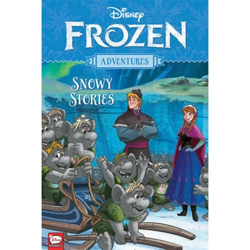 Disney Frozen Adventures: Snowy Stories Book