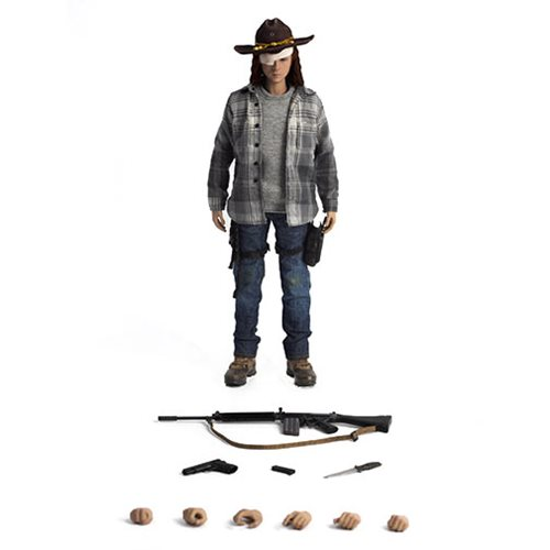 The Walking Dead Carl Grimes Standard Version 1:6 Scale Action Figure