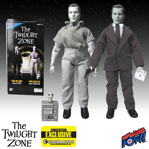 Twilight Zone Bob Wilson and Don Carter Deluxe Action Figure - EE Exclusive