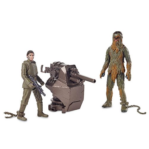 NEW!!! Force Link 2.0 Action Figures Star Wars Chewbacca /& Han Solo Mimban