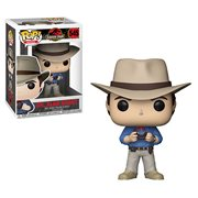 Jurassic Park Dr. Alan Grant Pop! Vinyl Figure, Not Mint