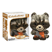 Guardians of the Galaxy Rocket Raccoon Fabrikations Plush Figure, Not Mint