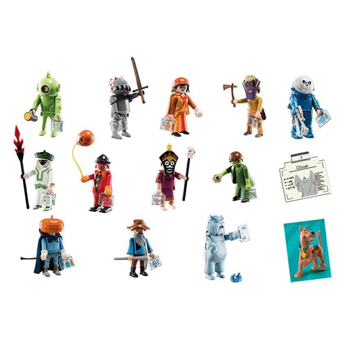 Playmobil 70288 Scooby-Doo Mystery Figures Series 1 6-Pack