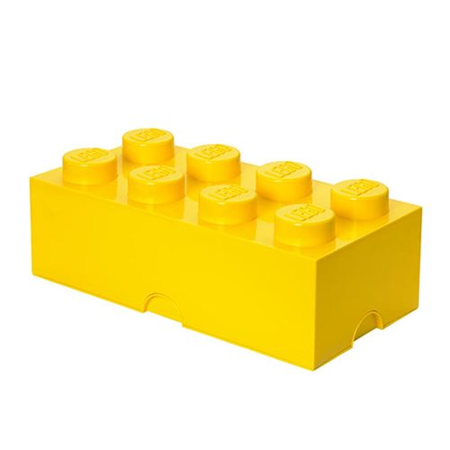 LEGO Bright Yellow Storage Brick 8