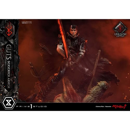 Berserk Guts Berserker Armor Unleash Ed. Ultimate Premium Masterline 1:4 Scale Statue