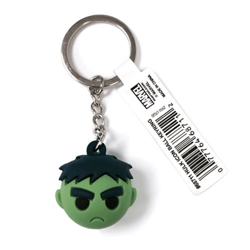 Hulk Icon Ball Key Chain