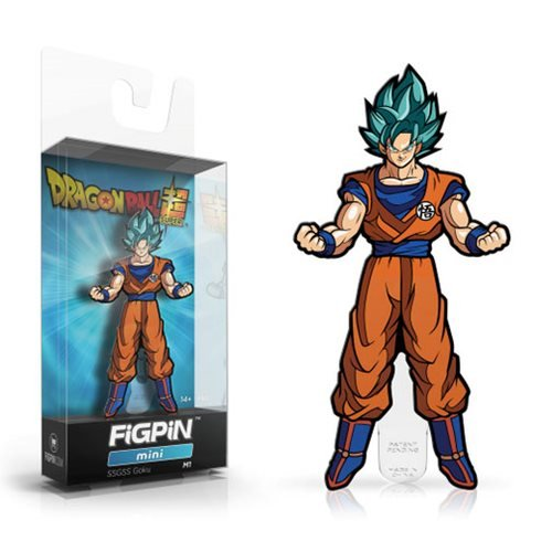 Dragon Ball: Super Super Saiyan God Super Saiyan Goku FiGPiN Mini Enamel Pin