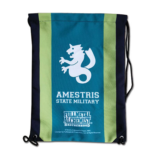 Fullmetal Alchemist Brotherhood Amestris Drawstring Bag