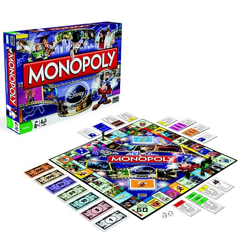 Monopoly Disney Edition Game, Not Mint