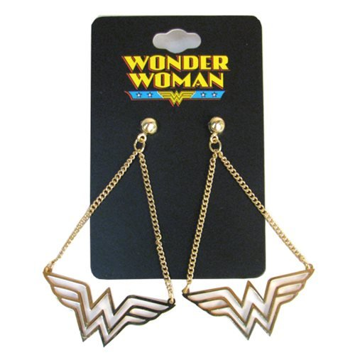 Wonder Woman Dangle Earrings