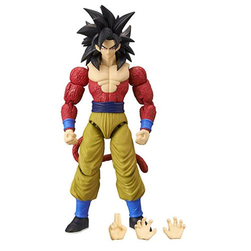 Dragon Ball Stars Super Saiyan 4 Goku Action Figure