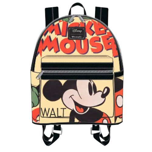 9ec4ac976f Mickey Mouse Classic Mini Backpack - Entertainment Earth