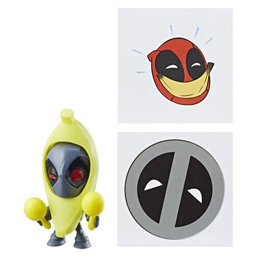 Deadpool Chimichanga Surprise Figures Order 2 Case