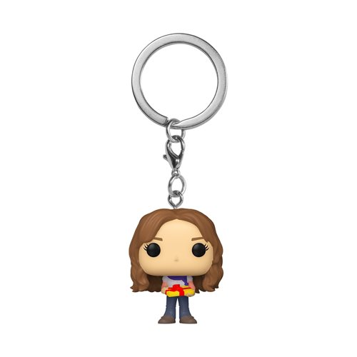 Harry Potter Holiday Hermione Pocket Pop! Key Chain
