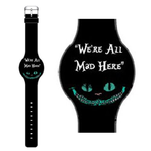 Alice in Wonderland We Are All Mad LED Watch