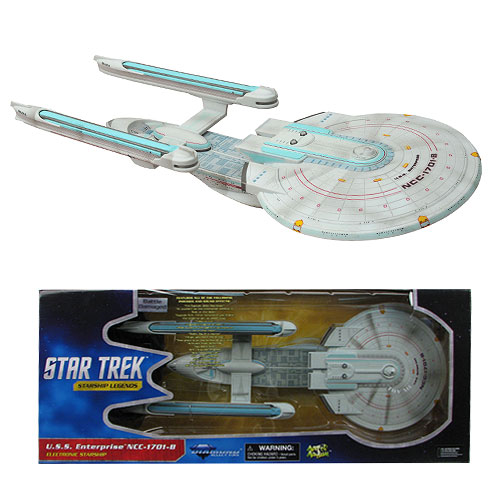 Star Trek Battle Damaged Enterprise-B Vehicle