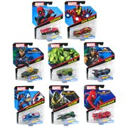 Hot Wheels Marvel Character Cars 1:64 Scale 2017 Wv. 7 Case