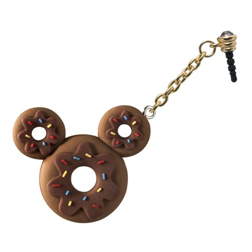 Mickey Mouse Donut D-Lish Treats PVC Phone Charm
