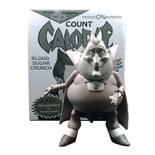 Count Calorie Monotone Cereal Killers by Ron English Vinyl Figure