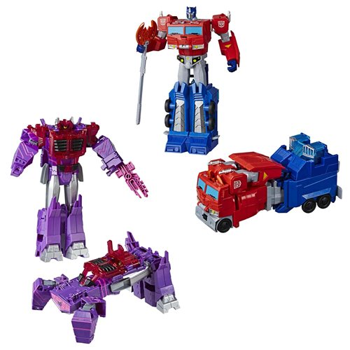 Transformers Cyberverse Ultimate Wave 4 Set