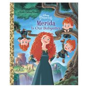 Disney Pixar Brave Merida Is Our Babysitter Disney Princess Little Golden Book