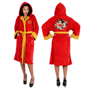 DC Comics Bombshells Wonder Woman Fleece Bathrobe