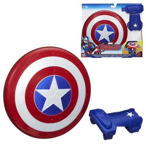Captain America Magnetic Shield & Gauntlet