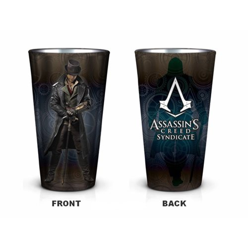 Assassin's Creed Syndicate Jacob Pint Glass