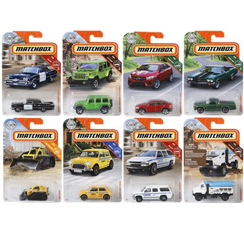 Matchbox Car Collection 2019 Mix 6 Case