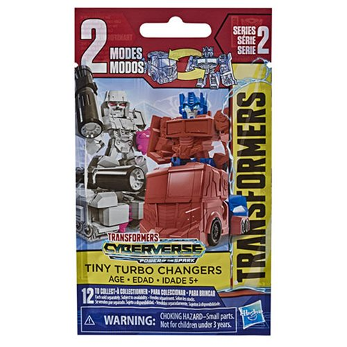 Transformers Cyberverse Tiny Turbo Changers Wave 2 6-Pack