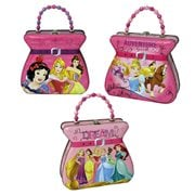 Disney Princesses Embossed Beaded Handle Tin Tote Set