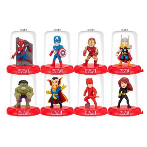 Marvel 80th Domez Series 1 Mini-Figures Blind Box 18-Pack Display Tray