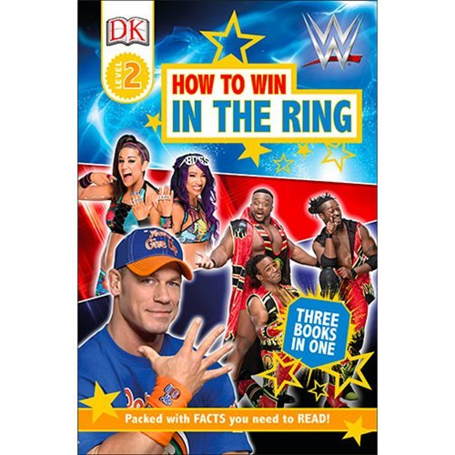 WWE How to Win in the Ring DK Reader 2 Paperback Book
