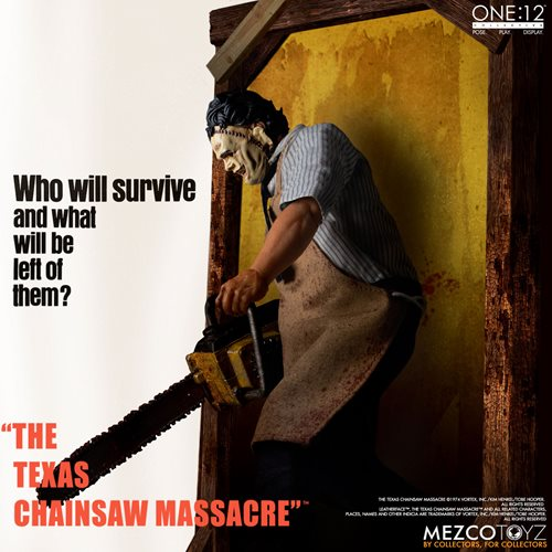 The Texas Chainsaw Massacre (1974): Leatherface One:12 Collective Deluxe Edition Action Figure