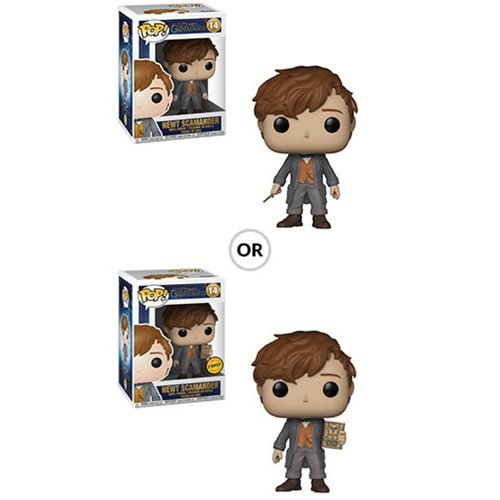 Fantastic Beasts: The Crimes of Grindelwald Newt Scamander Pop! Vinyl Figure #14, Not Mint